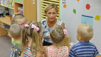 22 года посвятила работе с юными воспитанниками «Хрусталика» воспитатель Любовь Хорольская