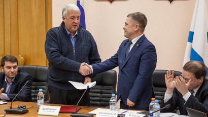 Председателем избирательной комиссии Архангельской  области избран Андрей Контиевский
