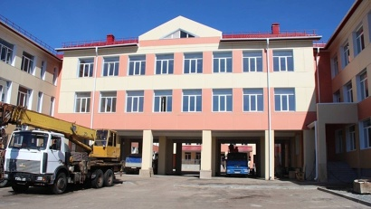Новая школа рассчитана на 860 учеников