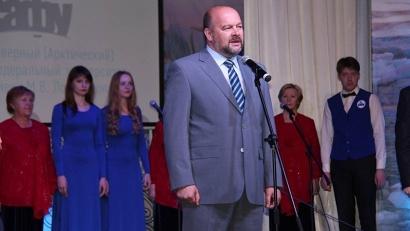 Первым федеральный ВУЗ поздравил врио губернатора Игорь Орлов