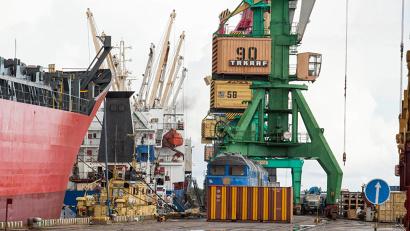 Порт Архангельск является одним из самых «дорогих» северных портов России
