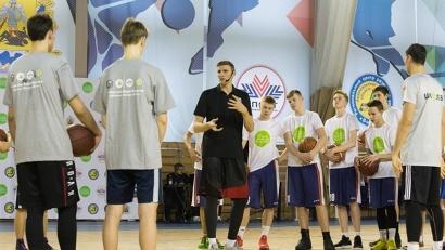 Андрей Кириленко провел мастер-класс для всех любителей баскетбола