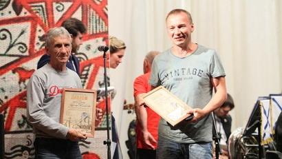 Победители конкурса резчиков деревянной скульптуры «Корабельная слобода»