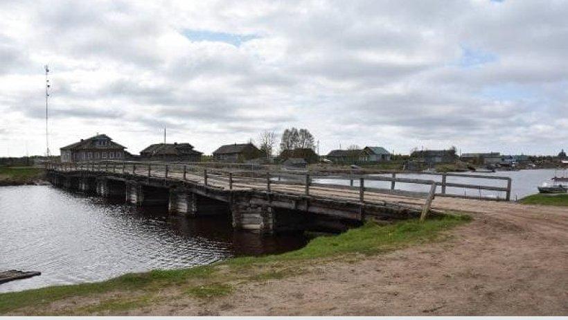 Мост в Луду. Фото пресс-службы АО «Плесецкое дорожное управление»