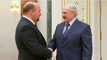 Igor Orlov, Arkhangelsk Region Governor, and Alexander Lukashenko, the President of the Republic of Belarus. Photo: the Press Service of the President of the Republic of Belarus