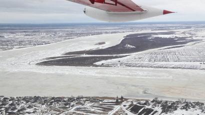 В ходе заседания была представлена информация о мерах по защите мостов, автомобильных и железных дорог в период ледохода и паводка 2016 года