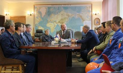 Разговор о перспективах развития Северодвинска. Фото Олега Перова