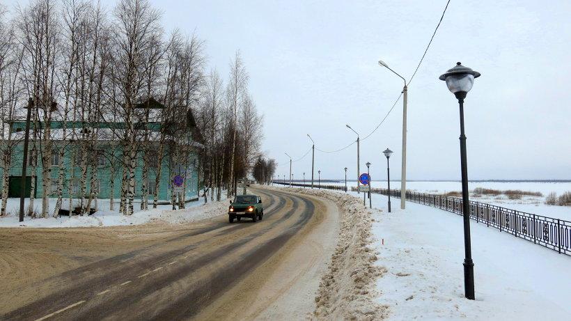Общая протяженность участка берегоукрепления составила полтора километра. Фото газеты  «Холмогорская жизнь»