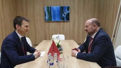 Стороны обсудили работу по консолидации электросетевых активов. Фото пресс-службы «МРСК Северо-Запада»