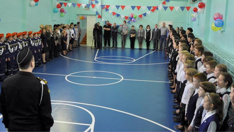 На капитальный ремонт спортивного зала школе №93 было выделено свыше 1 миллиона 800 тысяч рублей