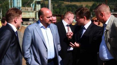 Директор  «Архангельскавтодора» Михаил Яковлев рассказал об объёмах дорожных работ в Вилегодском районе