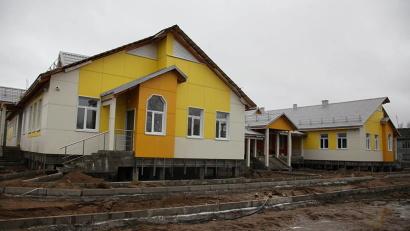 Новый детский сад в Турдеевске