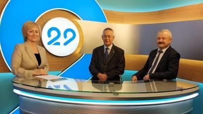 Участники программы «13 этаж» обсудили переход Поморья на цифровое ТВ