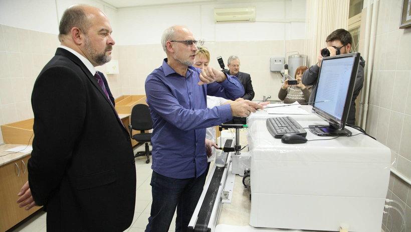 Главе региона показали возможности новой лаборатории