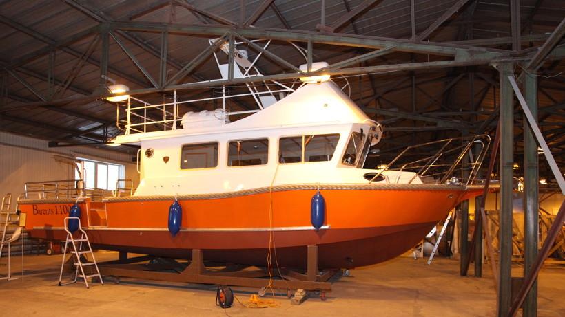 На одной заправке катер может дойти от Архангельска до Соловков, обогнуть архипелаг и вернуться обратно