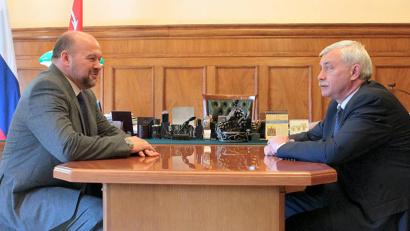 Игорь Орлов и Георгий Полтавченко. Фото пресс-службы губернатора Санкт-Петербурга