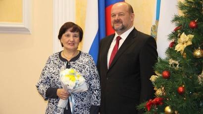 Звание «Почётный работник сельского хозяйства» присвоено Валентине Корелиной