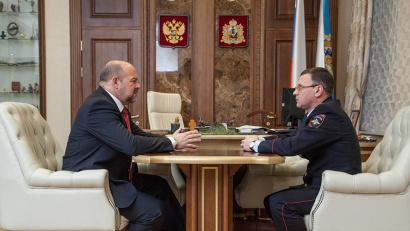 Глава региона обсудил с Андреем Плотниковым вопросы взаимодействия