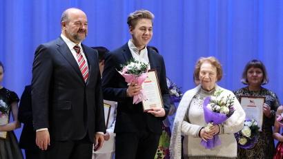 В числе лауреатов – студент Архангельского музыкального колледжа Даниил Горшков