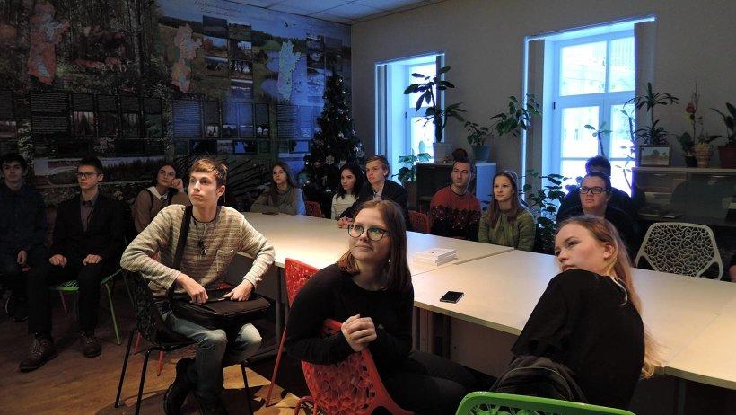 Участникам «Мастерской эковолонтера» рассказали об особенностях национального парка «Кенозерский»