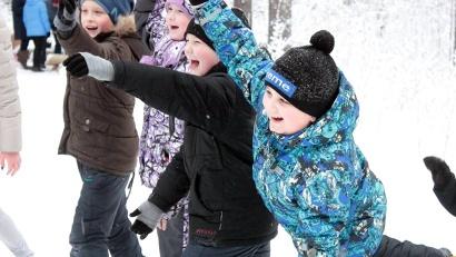 В зимние каникулы в «Месте сБОРа» состоялся большой детский праздник