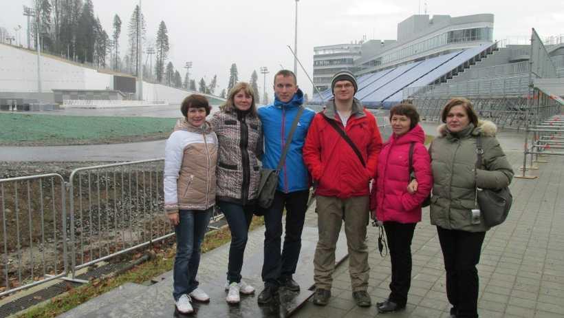 Судьи Поморья на лыжно-биатлонном комплексе «Лаура»