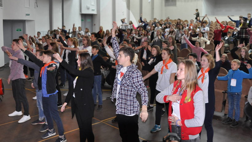 Почти 200 школьников из 16 муниципальных образований Поморья приняли участие в слёте