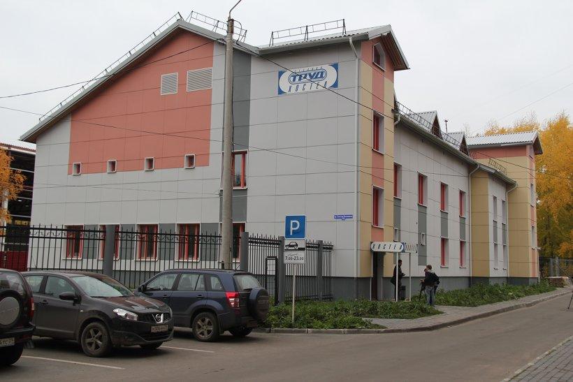 Хостел располагается рядом с ФОК «Норд-Арена»