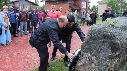 Представители делегации республики Ингушетия возложили цветы к памятнику заключённым
