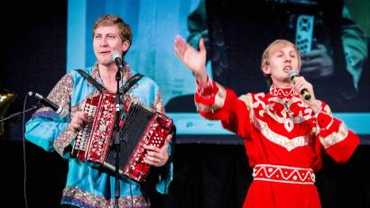 Гости из Санкт-Петербурга и Москвы Игорь Шипков и Илья Соловьев