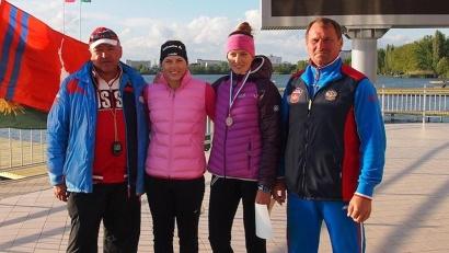 Наталья Подольская и Мария Александрова завоевали «бронзу» на дистанции 200 метров