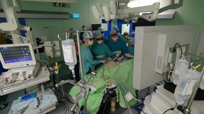 Мастер-класс по лапароскопическим операциям