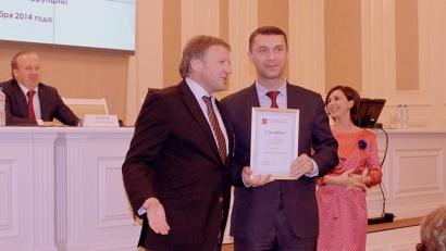 Борис Титов вручил награду Николаю Евменову