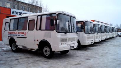 Девять передвижных фельдшерско-акушерских пунктов отправились в районы Архангельской области