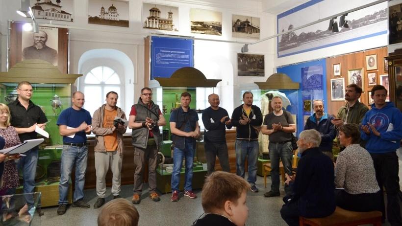 Пленэр посвящен столетию Каргопольского музея, фото Оксаны Песьяковой