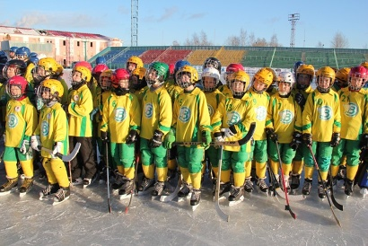 Команда  «Водник» - традиционный фаворит Кубка губернатора по хоккею с мячом