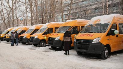 Новые автобусы марок «Ford Transit» и «ГАЗ» будут перевозить детей в районах Поморья