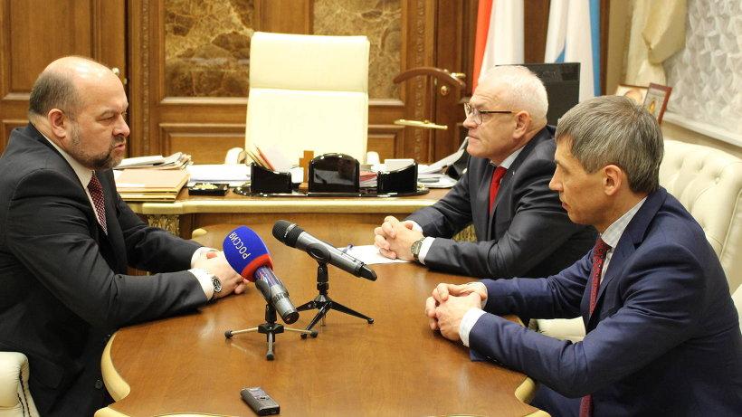 Губернатор предложил региональному отделению партии «Родина», фракции партии в областном Собрании включиться в работу над текстом послания