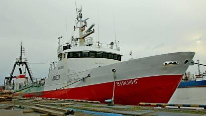Экипаж «Викинга» работает в России и регулярно заходит в Архангельск и Мурманск