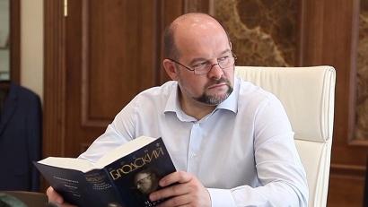 Игорь Орлов прочитал стихотворение Иосифа Бродского «Мой народ»