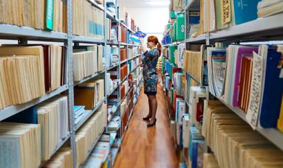Книжный фонд библиотеки содержит более 83 тысяч единиц хранения по всем направлениям медицины