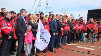 14 июня 2019 года Архангельск встречал экспедицию, завершившую работу в рамках второго этапа «Трансарктика-2019»