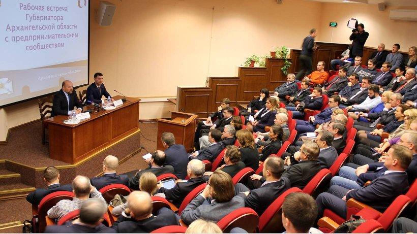 На встрече с губернатором Игорем Орловым представители бизнес-сообщества Поморья обсудили дальнейшее сотрудничество
