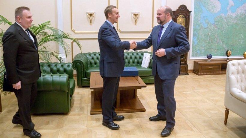 Игорь Орлов и Вячеслав Воробьёв обсудили перспективы дальнейшего сотрудничества