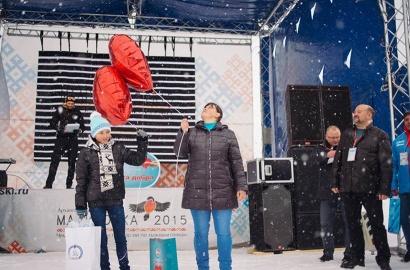 Героиней благотворительного проекта стала юная лыжница из Вельска Надя Третьякова