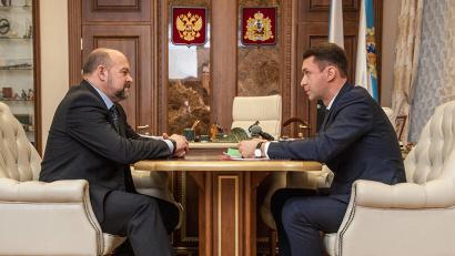 Игорь Орлов поддержал инициативы бизнес-уполномоченного Николая Евменова