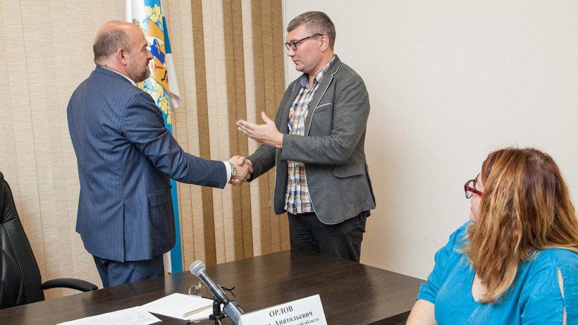 Анатолий Конычев поблагодарил губернатора и правительство Архангельской области за поддержку съёмок фильма  «Не для речки»