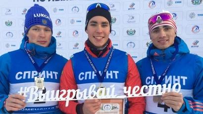 На соревнованиях в Тюмени Александр Терентьев завоевывал уже две золотые медали