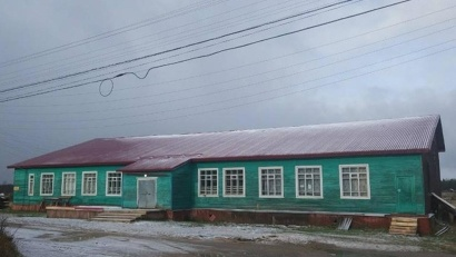 Под новой крышей в Доме культуры деревни Согра теперь уютно и детям, и взрослым