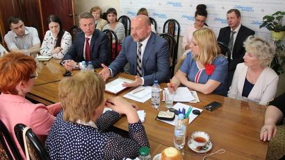 Игорь Орлов отвечал на вопросы журналистов без какой-либо подготовки